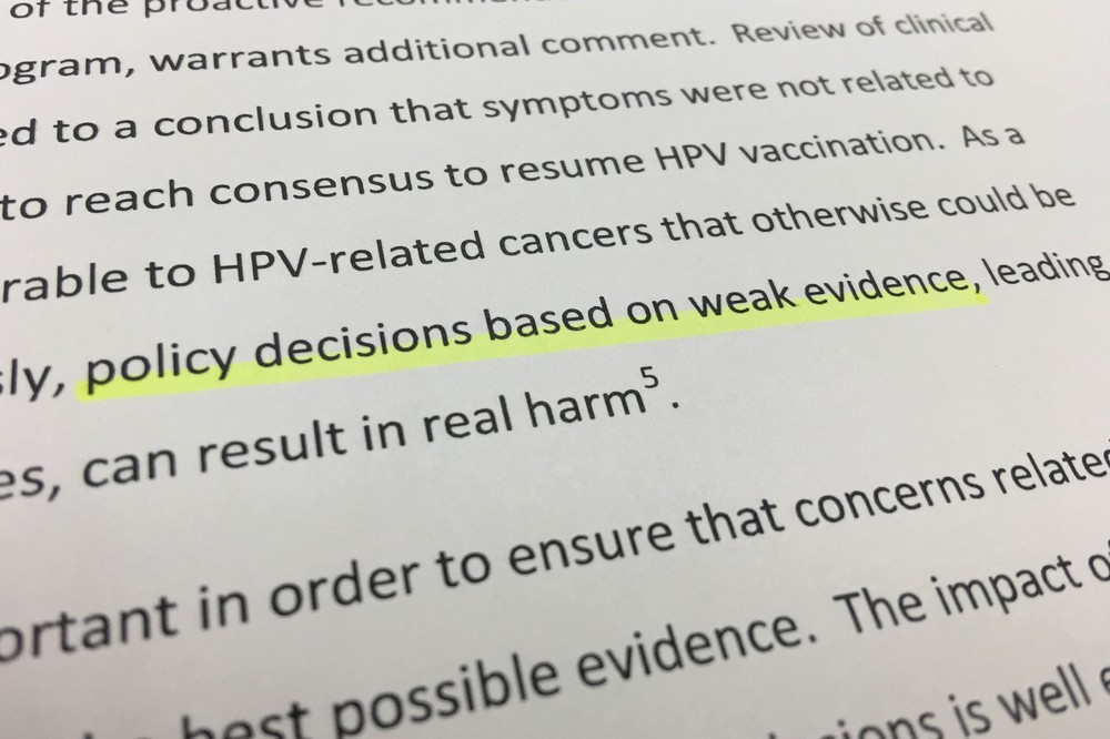 WHO、子宮頸がんワクチンで日本を「名指し非難」 接種勧奨中止は「乏しい証拠に基づいた政策決定」