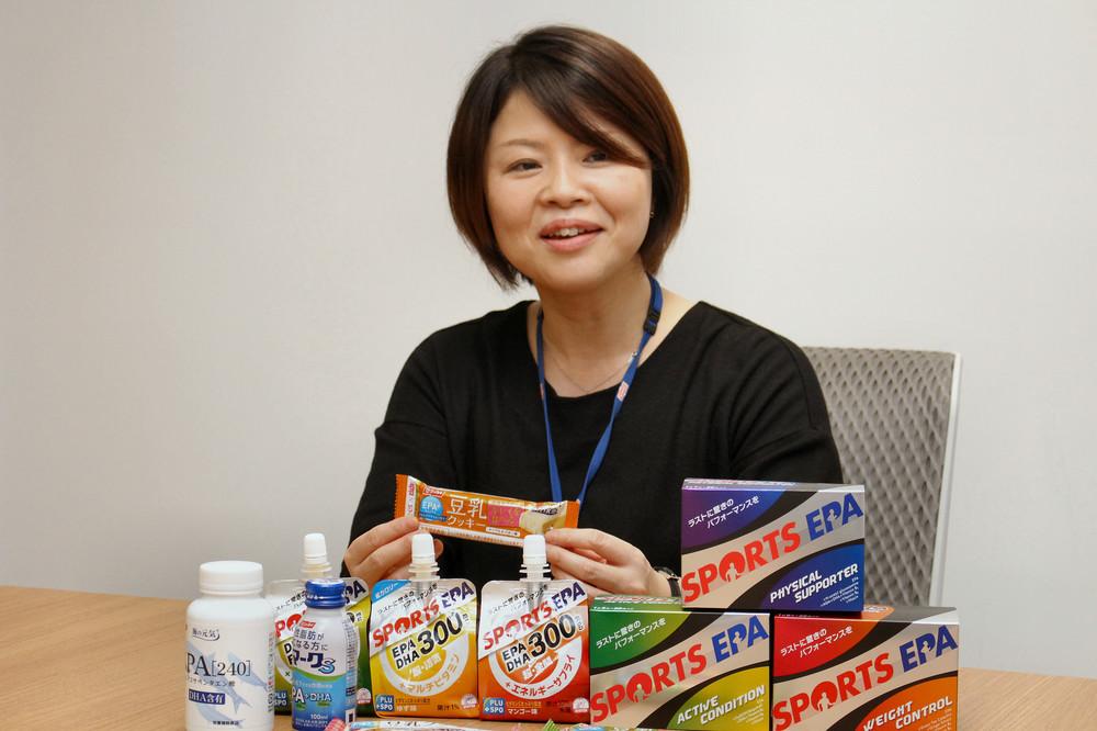 「血液サラサラ」EPAを毎日摂取できる 飲料、菓子、冷食と多様なラインアップ