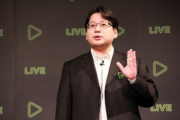 ベッキー巡る「デマ報道」を否定したLINE取締役の舛田淳氏(写真は2015年12月撮影)