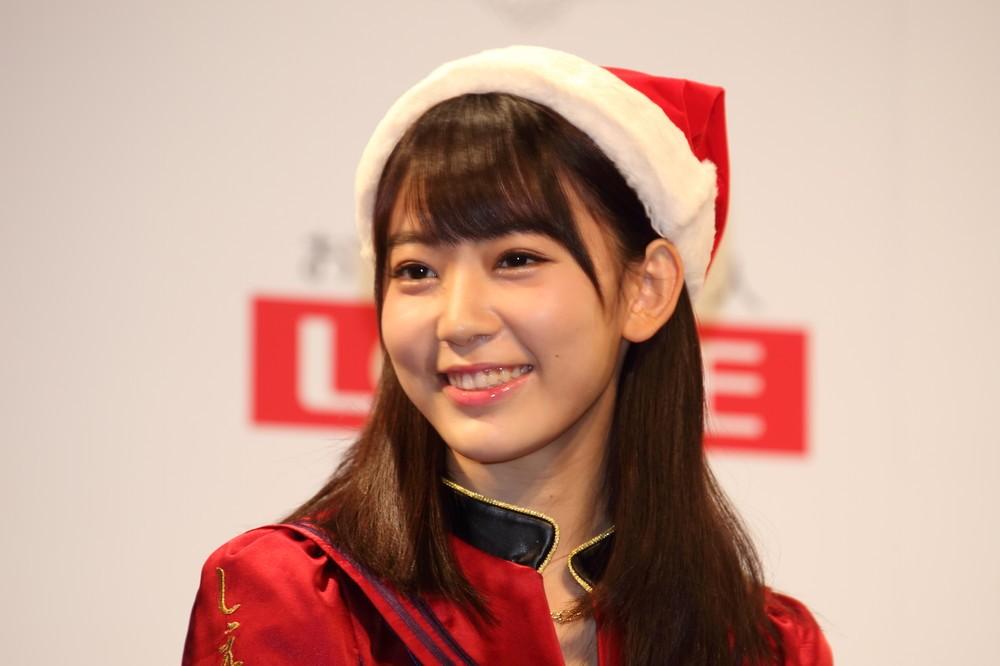 宮脇咲良さんは前田敦子さんから「不動のポジション」を期待されている(2015年12月撮影)