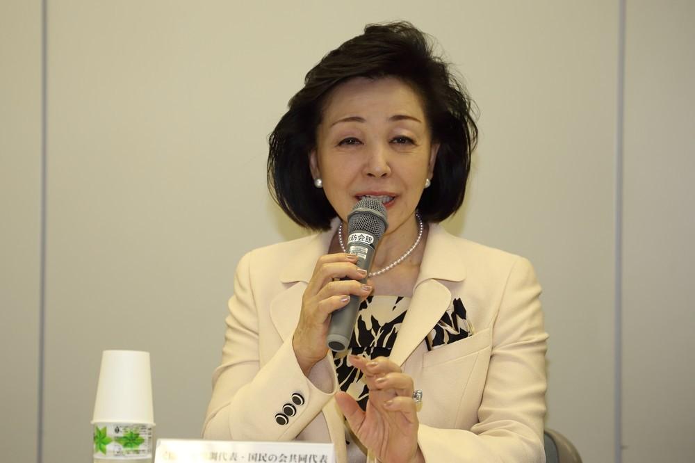 櫻井よしこ氏、憲法改正して「緊急事態条項」を 「熊本地震」に触れつつ「国がパッと対処できる」