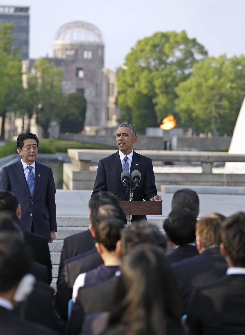 大統領 た 現職 訪れ として の は 初めて オバマ米大統領が現職で初めて広島訪問、慰霊碑に献花 核なき世界訴え