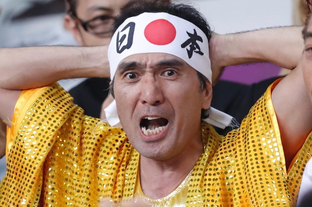 江頭、やはり女子レスリング会場にいた ド派手衣装で吉田沙保里を応援