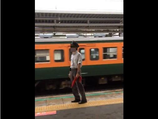 豊田駅駅員の「絶叫動画」がネット拡散 「ルール無視」撮り鉄に「やめてくれよ!!」