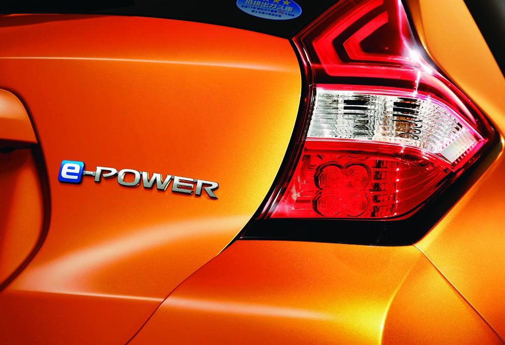 「e-POWER」モデルに付く専用ロゴ