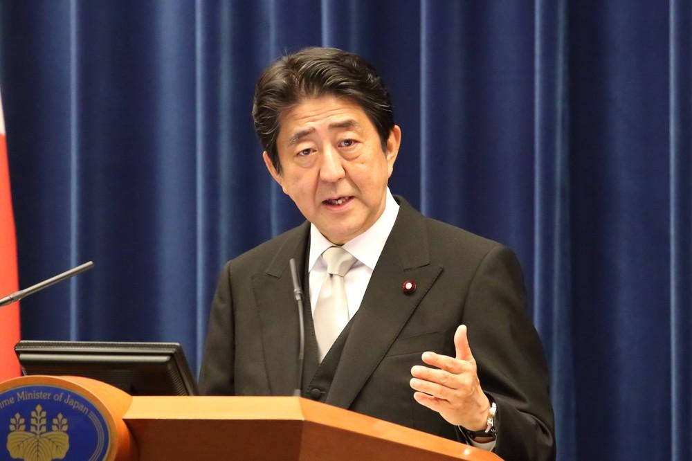 安倍晋三首相は本当に「お断りした」のか(2016年8月撮影)