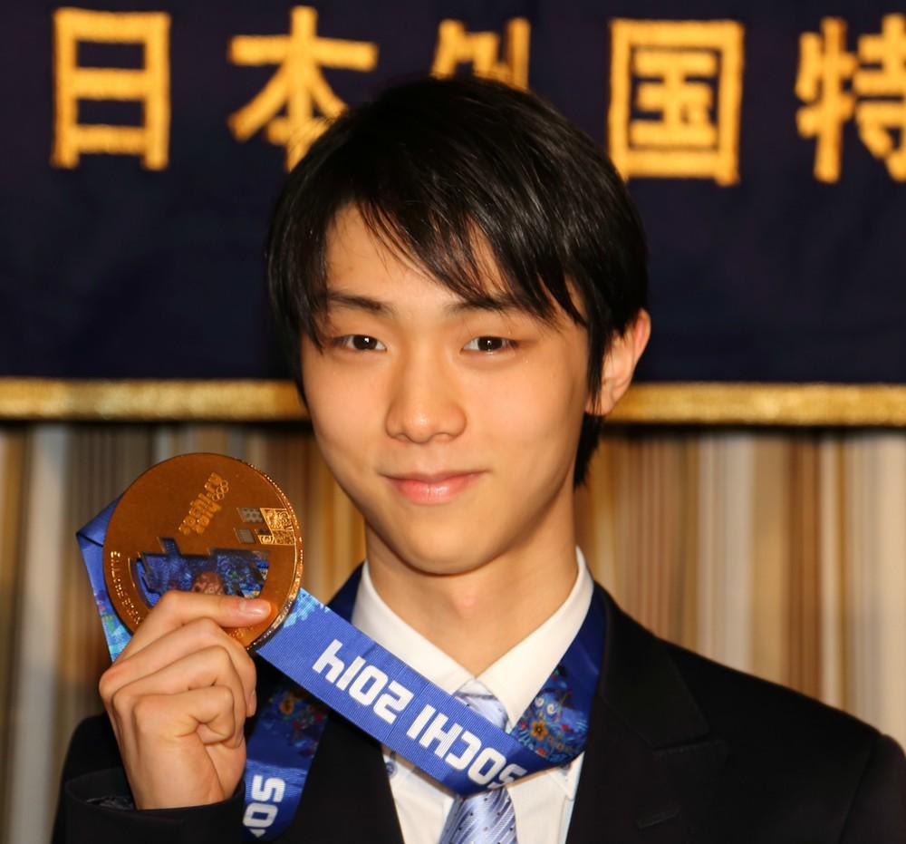 「congratulations Yuzuru!!!」 憧れの「皇帝」プルシェンコも祝福