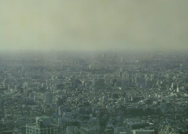 日本に黄砂が飛来する季節到来 PM2.5が付着して人体に悪影響