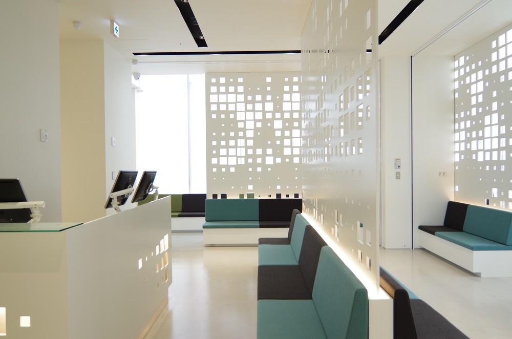 銀座総合美容クリニック待合室