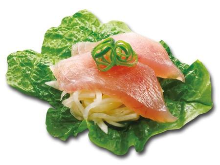 シャリなし寿司、刺身とは違う 「大根」選んだくら寿司、取材に自信