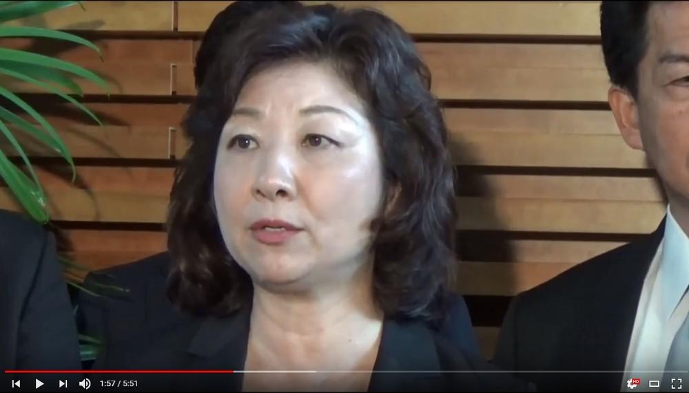 野田聖子の夫は「元暴力団員」報道 ネットでは賛否両論