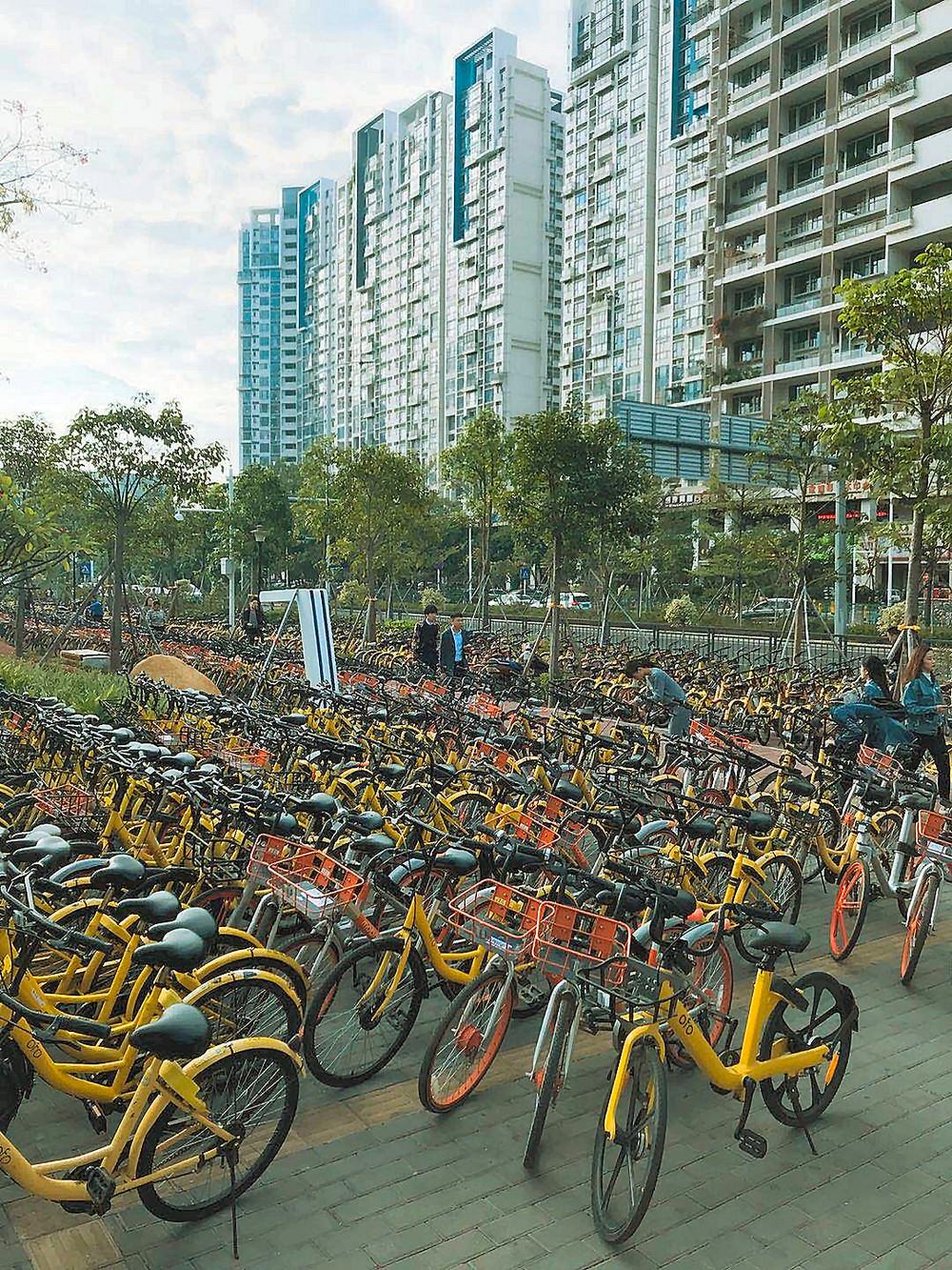 日本で定着するか「自転車シェアリング」 短距離移動に利便性、健康増進にも