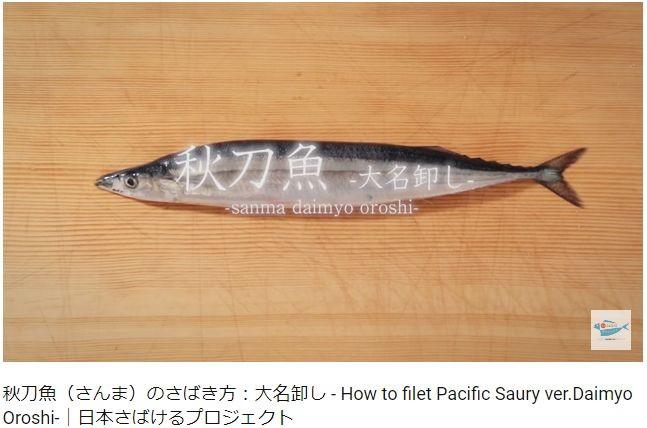魚のさばき方を学べる動画が人気 サバ、サンマからナマズ、タコも