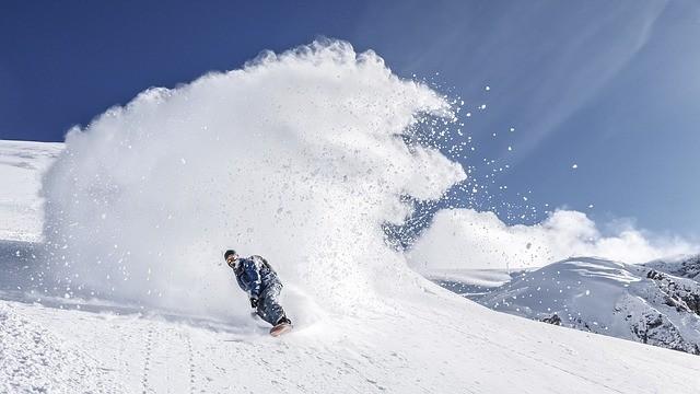 冬山の紫外線量も実はかなりの量に
