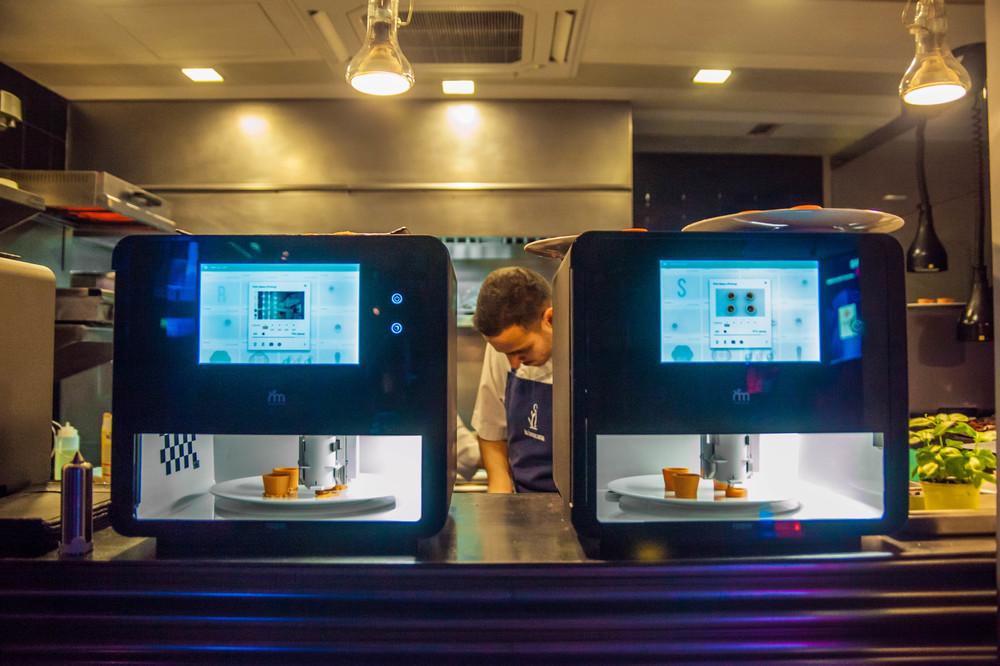 未来の台所は3Dプリンターで料理 ピザにお菓子、かわいいデザインも