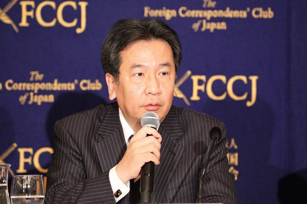 枝野氏「同じ質問を自民党総裁に」 「会見の定例化を」指摘の記者に「反撃」