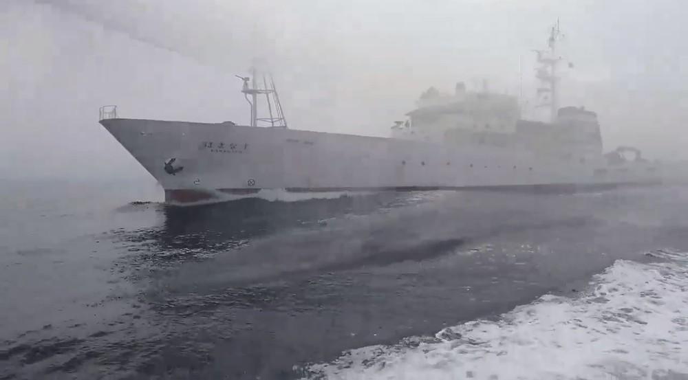 台湾船へ「水産庁が放水」動画 現地メディア取り上げ「30万回超」再生
