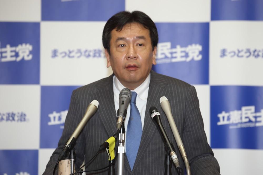 佐川氏喚問に「期待しましょうよ!」 立憲・枝野代表が「入省の初心」指摘