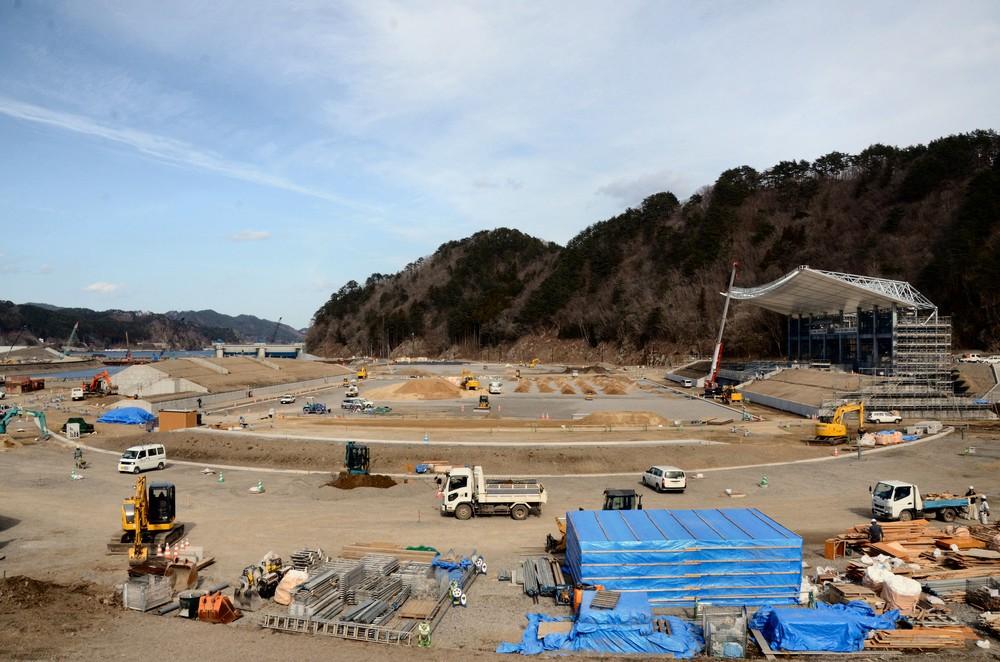 【震災7年 明日への一歩】釜石に建つ新スタジアム ラグビーW杯で世界に感謝を伝えたい