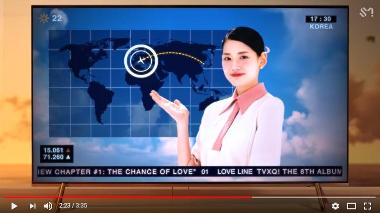東方神起MVが物議 世界地図から日本を削除、事務所は謝罪