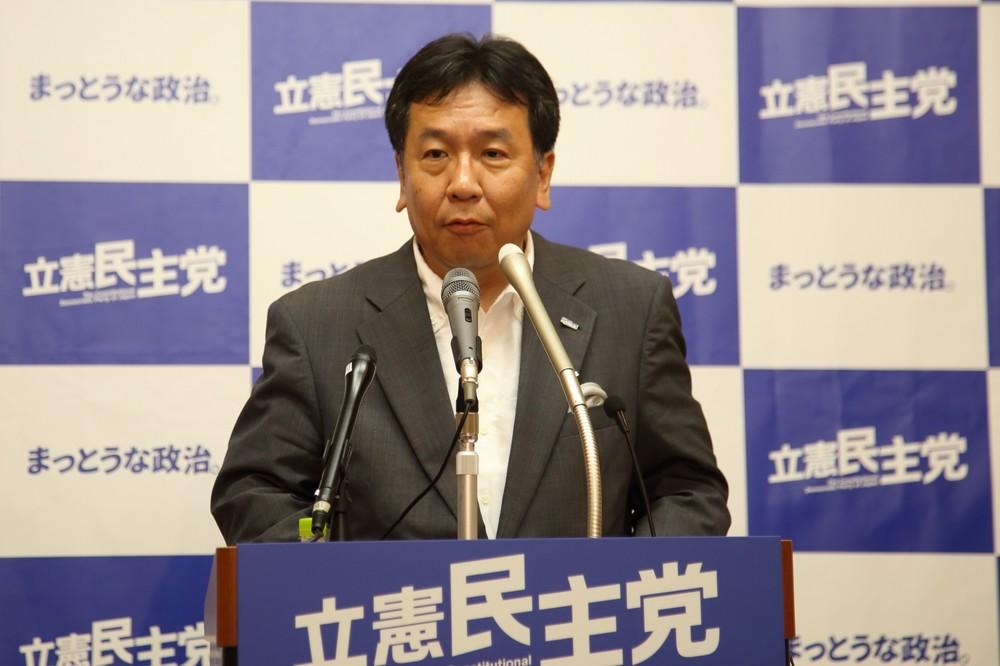 枝野代表がAKB総選挙で持論 推しメン「圏外」理由は?