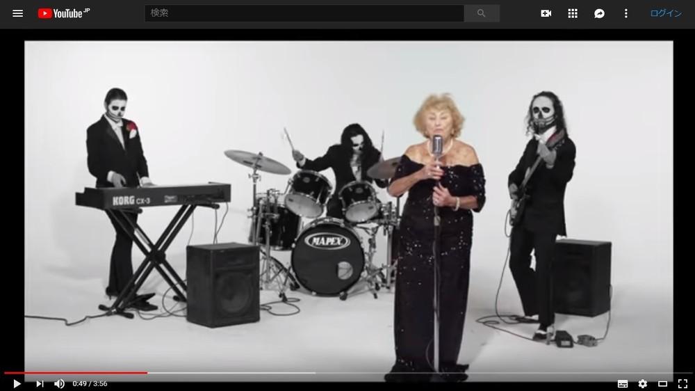 ホロコースト生存の96歳おばあちゃん、メタル歌手として注目