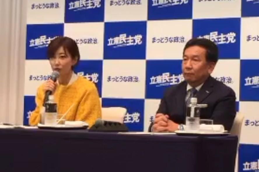 立憲民主「大事な目玉候補」に亀石弁護士 激戦・大阪で「共倒れ」の危険も
