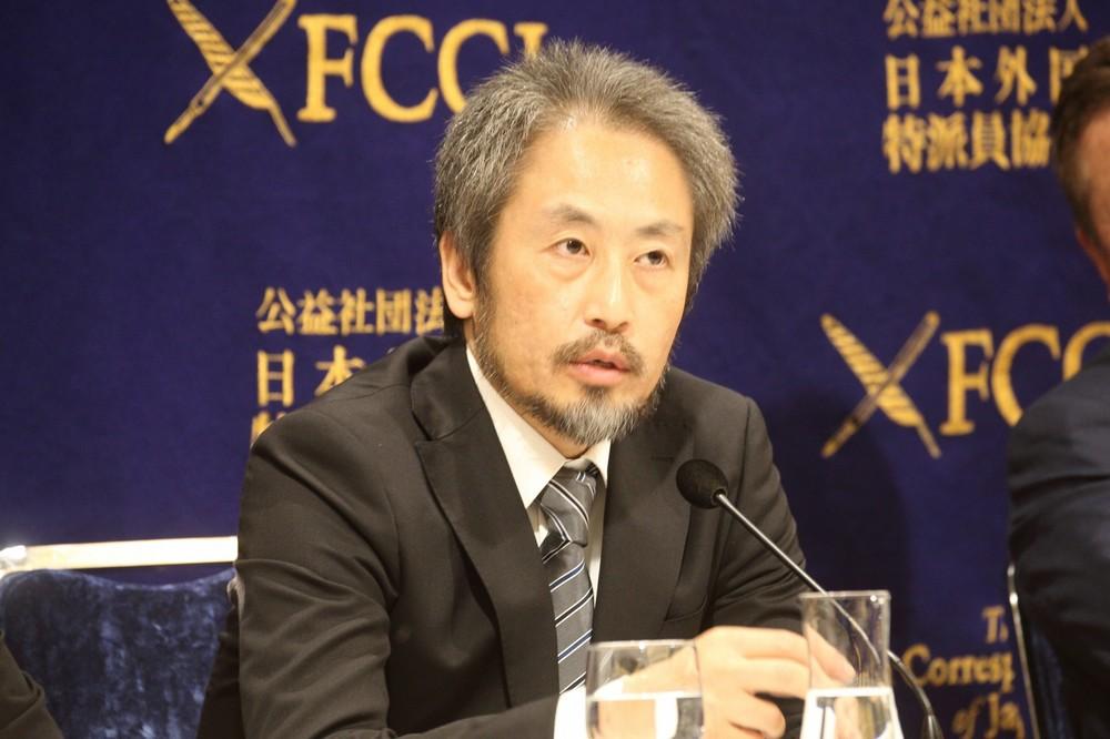 謝罪は「ごあいさつと言いますか...」 安田純平さん、帰国後2回目の会見