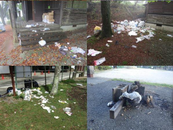 ゴミ、路駐、芝生での直火に柵破壊も... 「聖地」一時閉鎖に追い込んだ迷惑キャンプ客の行状