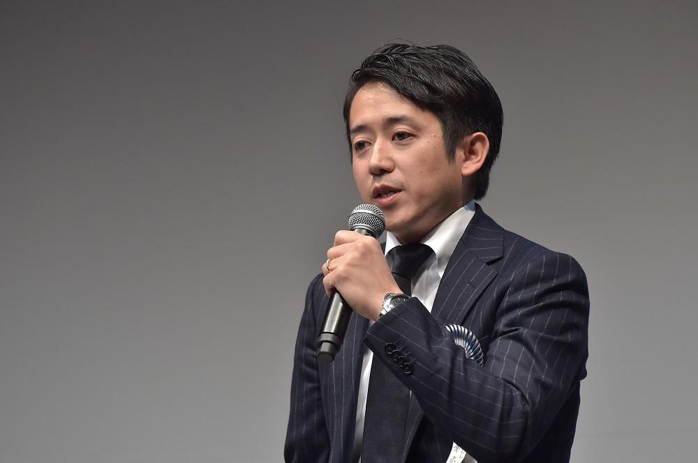 基調講演を行ったLIFULL執行役員の羽田幸弘・人事本部長