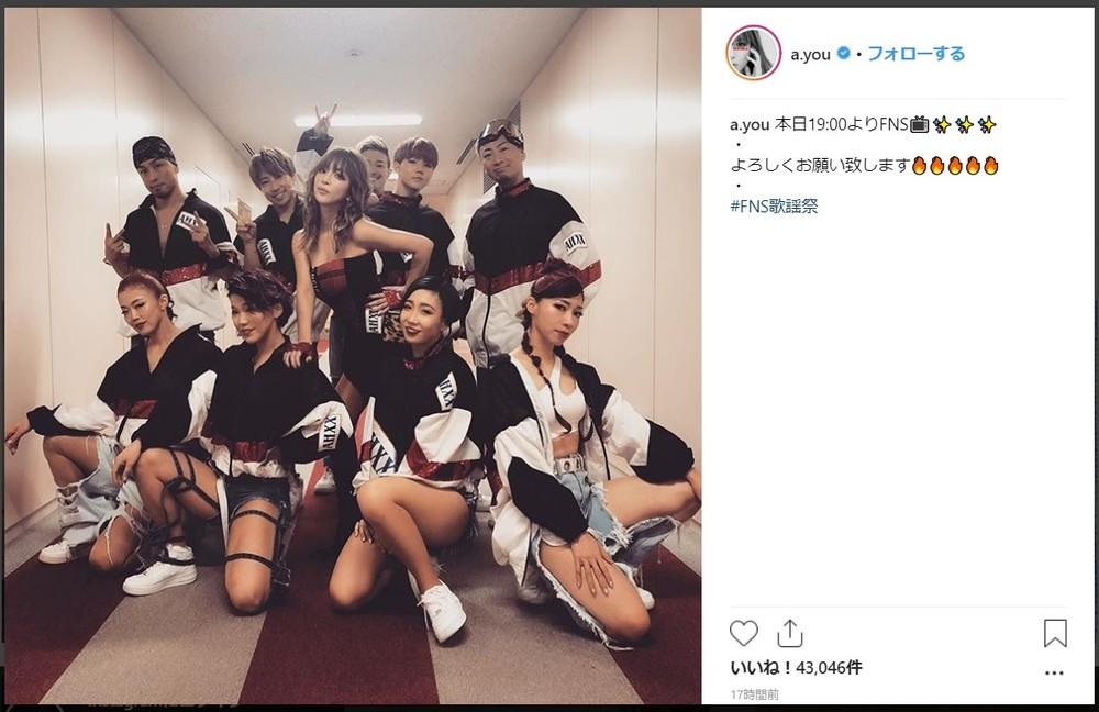 全盛期の浜崎あゆみが帰ってきた! FNS歌謡祭での「宇多田カバー」が大好評