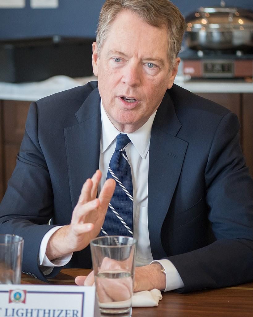 米側の交渉を指揮するロバート・ライトハイザー氏(米農務省より)