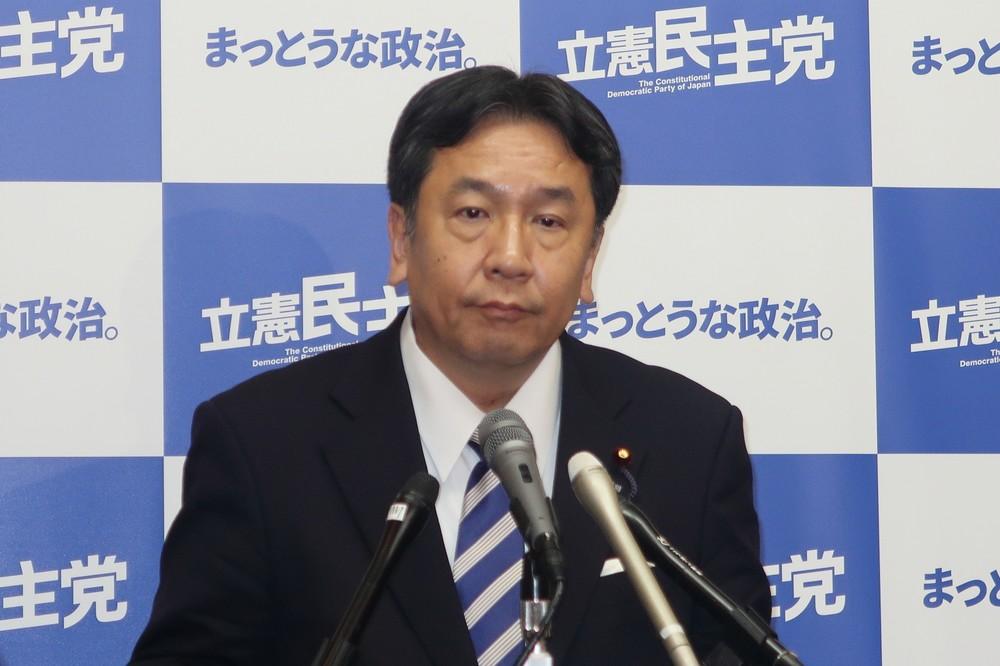 枝野幸男氏がNGT問題に注文 日本はタレントの保護「十分でない」