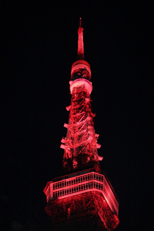 東京タワー、「春節」カラーにライトアップ! 安倍首相も中国語で「明けましておめでとう」