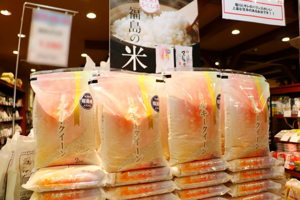 福島県産「ミルキークイーン」の味は、米どころの新潟県産にも負けていない