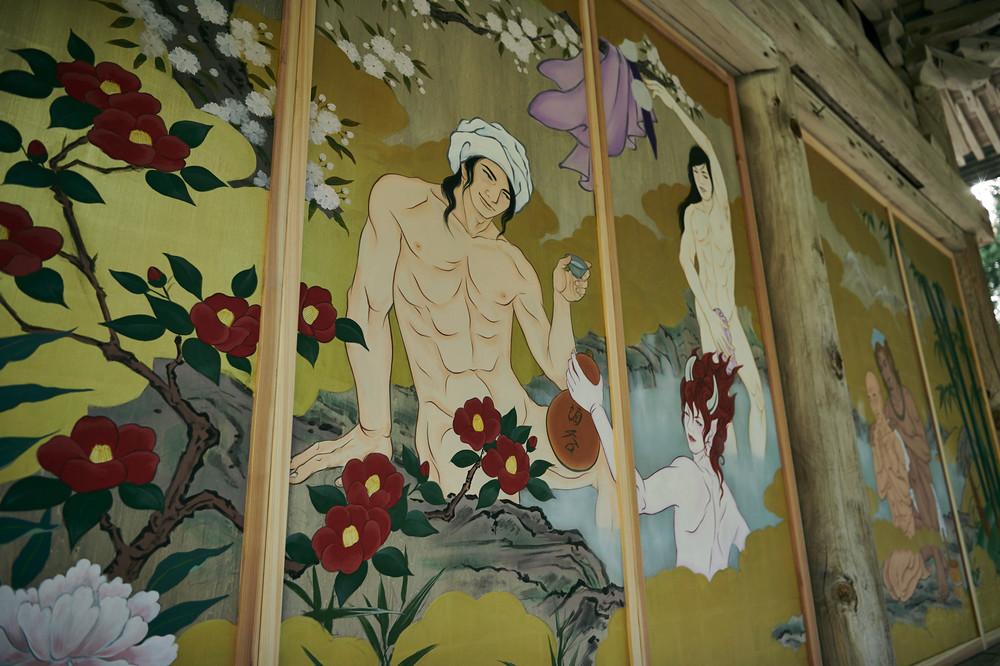 「イケメン官能絵巻」の新潟・国上寺、「当局と対立しているわけではない」 芸術関係者からはエールも