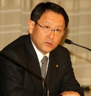 豊田章男社長は「慢心を取り除く」と強調している(写真は2010年撮影)