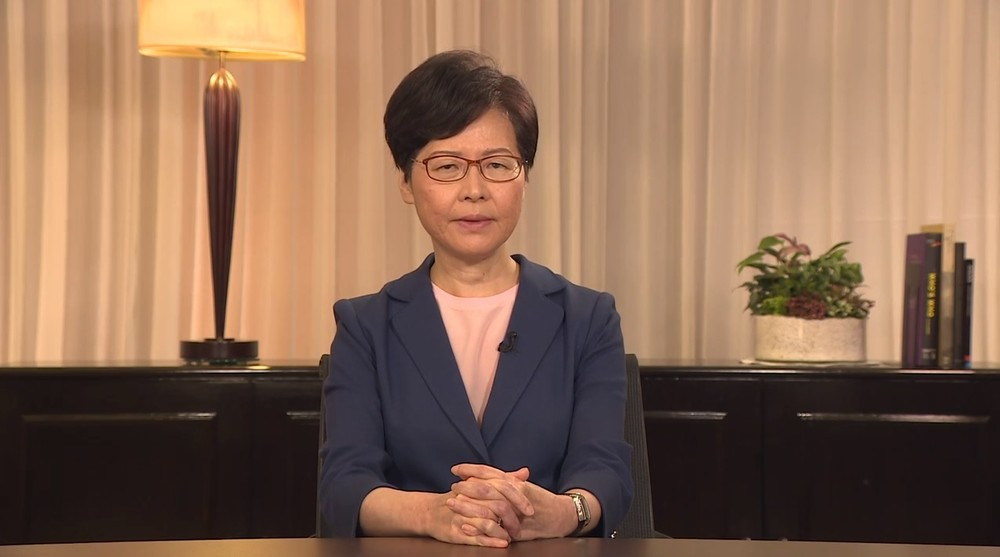 逃亡犯条例撤回、中国国営メディアの反応は... 「デモ隊の要求」より「林鄭氏の提案」強調