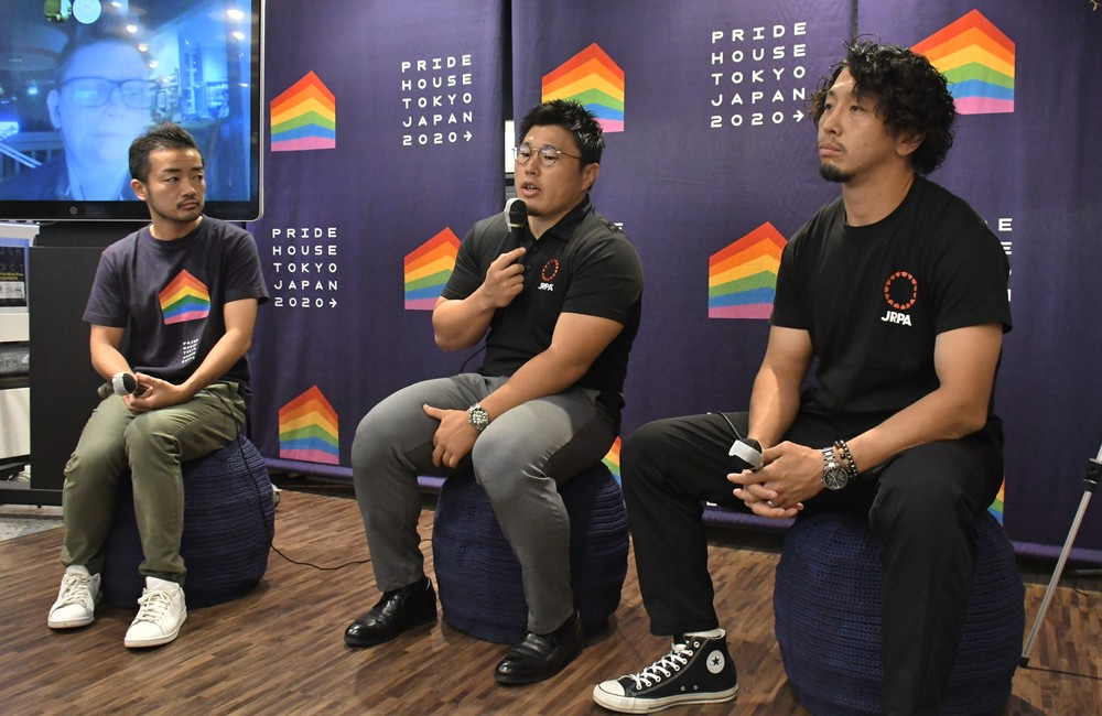 スポーツとLGBTを学ぶ「プライドハウス」 ラグビーW杯に合わせ日本初オープン