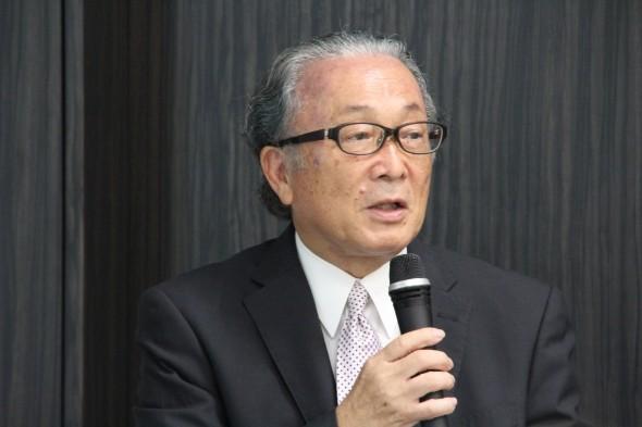 「大腸劣化」対策委員会の松井輝明帝京平成大学教授(2019年9月撮影)