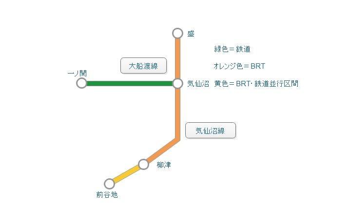 最近話題の「BRT」って、結局何なの? JR気仙沼線の一部などで鉄道から転換