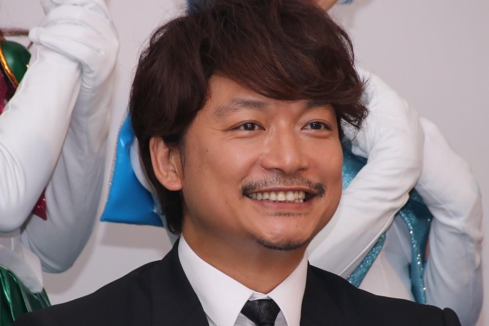 香取慎吾さん(2018年7月撮影)