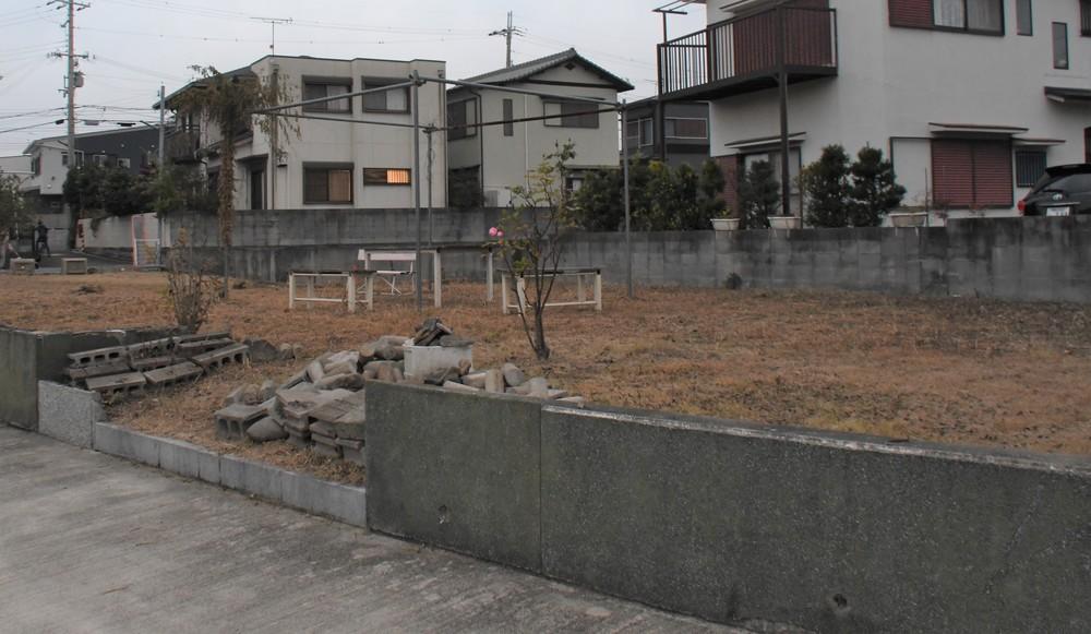 林真須美死刑囚の自宅跡(2019年12月11日編集部撮影)
