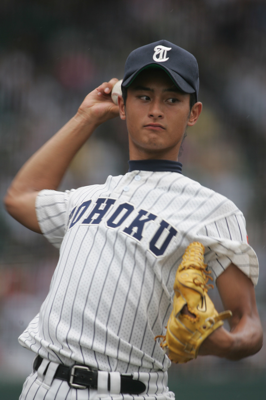 2004年夏の甲子園当時のダルビッシュ有投手(写真:アフロ)