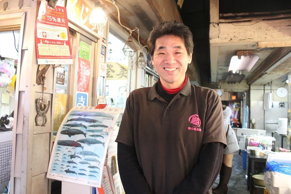 店の代表を務める松本宏一さん