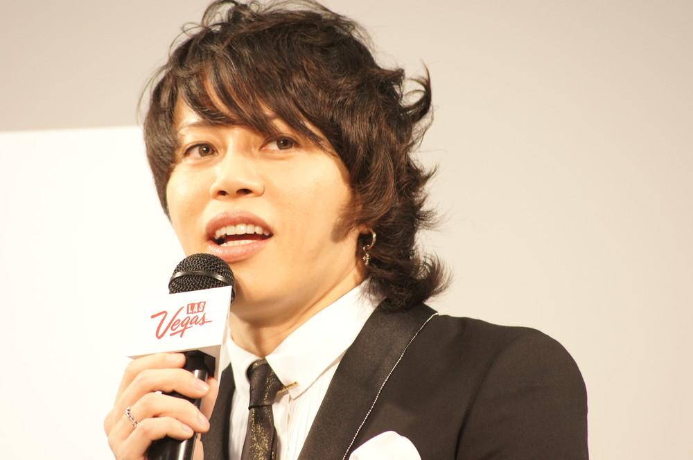 西川貴教さん(2013年)。アラフィフとは見えない若々しさ