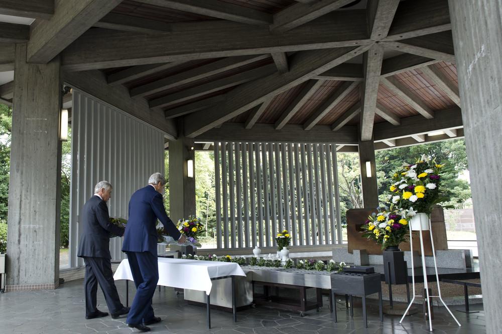 国立千鳥ヶ淵戦没者墓苑。日本人以外の遺骨が納められてしまっていた