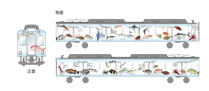 「鮮魚列車」から「伊勢志摩お魚図鑑」へ 近鉄名物列車の変わる活用戦略