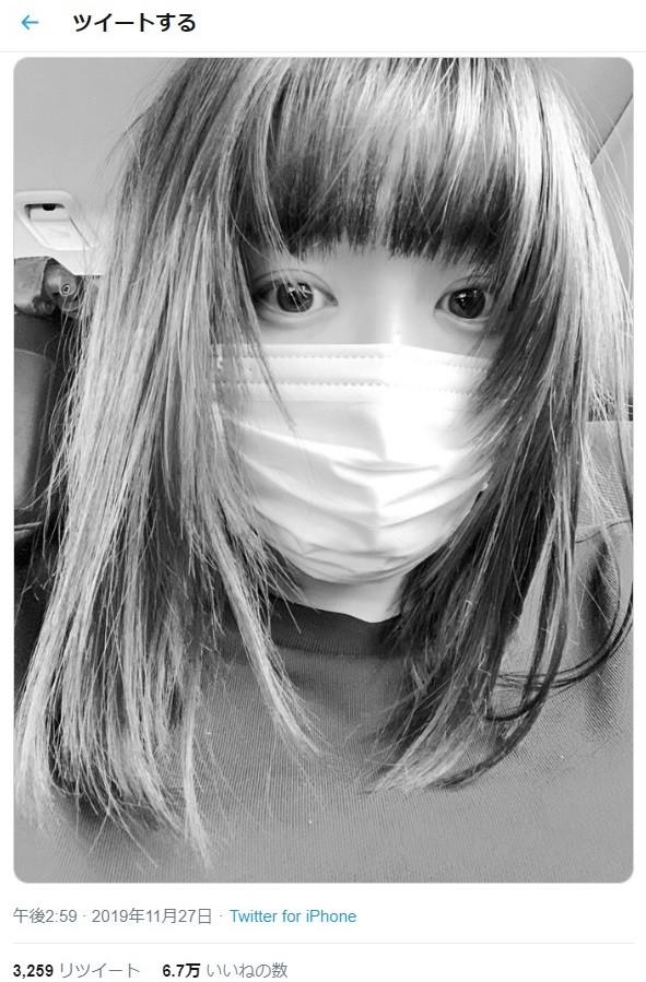 永野芽郁さんのツイッターから