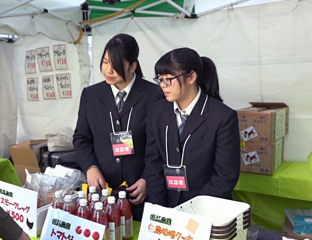 東京・御徒町で開催された「ふくしままつり」に出品した商品は完売した(2019年11月16日、17日開催「ふくしままつり 2019」、提供:相馬農業高校)